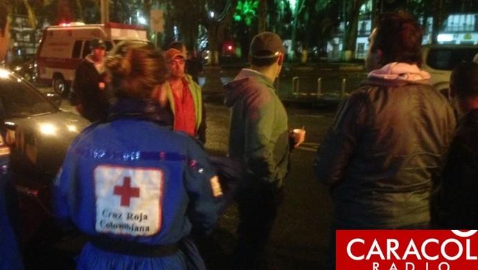 Imprensa Colombiana confirmou o resgate das vítimas (Foto: Caracol Rádio)