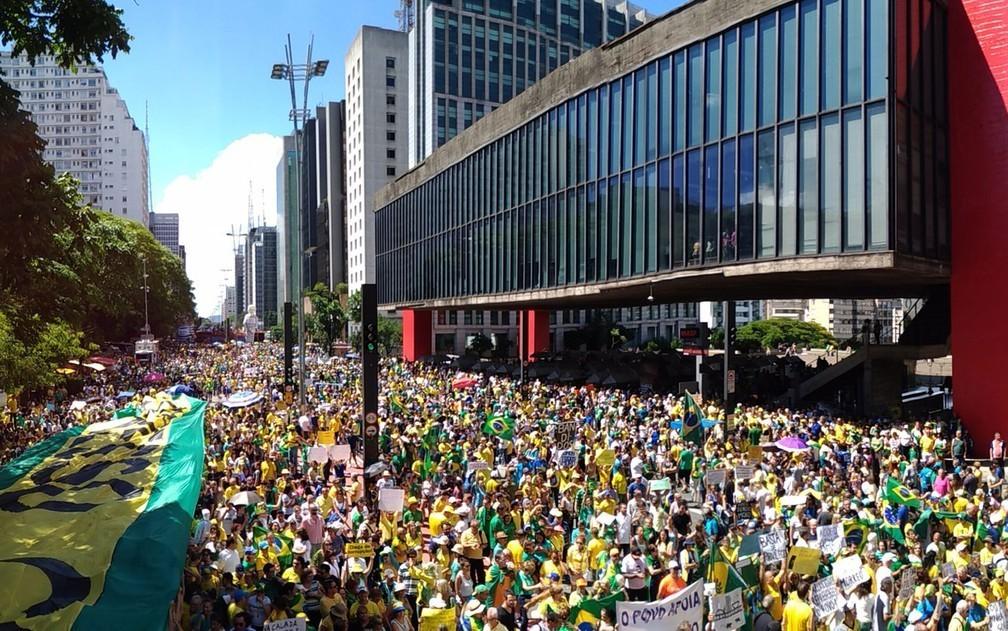 Foto: Fábio Tito - Ato na Avenida Paulista, São Paulo
