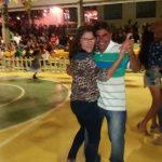 Ronaldinho e esposa