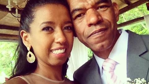 José-Dias com sua filha Bianca